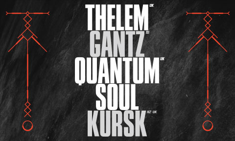 Wed Sept 18th: Deceast pres. THELEM / GANTZ / QUANTUM SOUL / KURSK @ Innamind Recordings Night