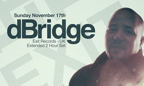 Sun. Nov 17th: Deceast pres. dBridge